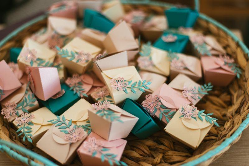 organizer ślubny prezenty dla gości