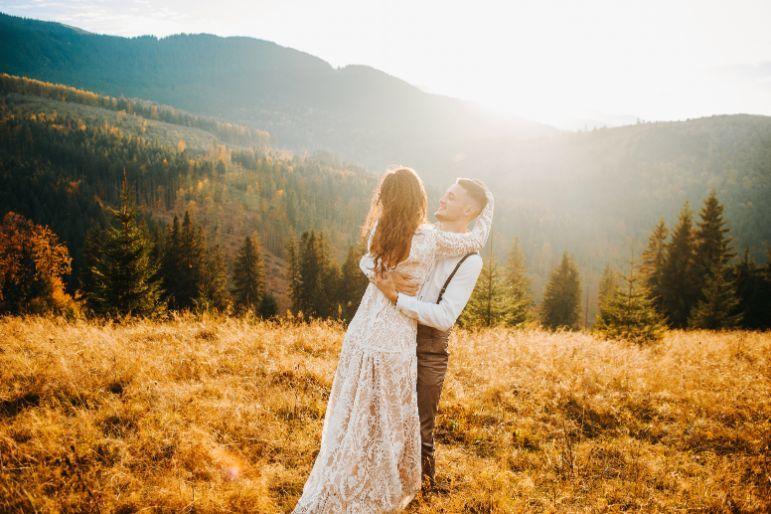 Budżet ślubny zdjęcia ślubne w plenerze