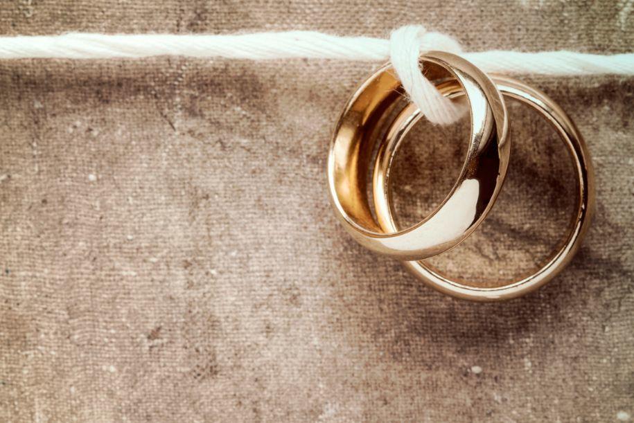 Organizacja wesela obrączki ślubne