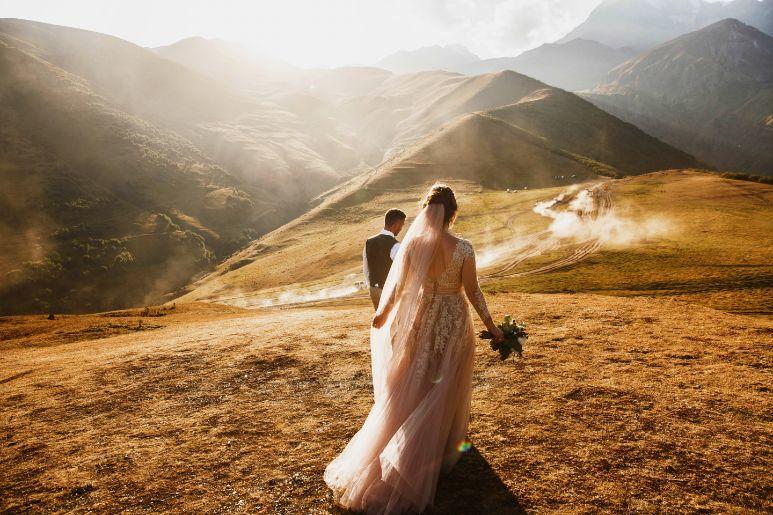 Koszt wesela górski plener ślubny