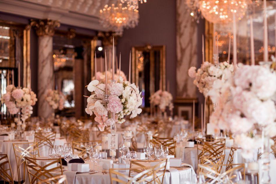 terminarz ślubny dekoracja sali weselnej