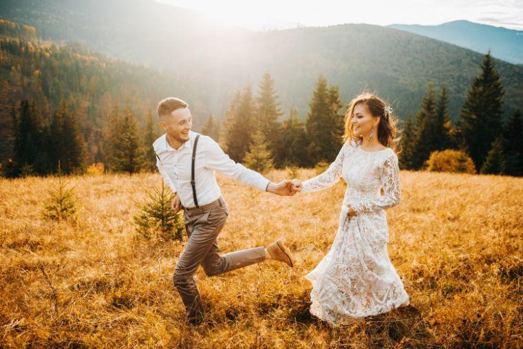 Koszty wesela zdjęcia ślubne w górach