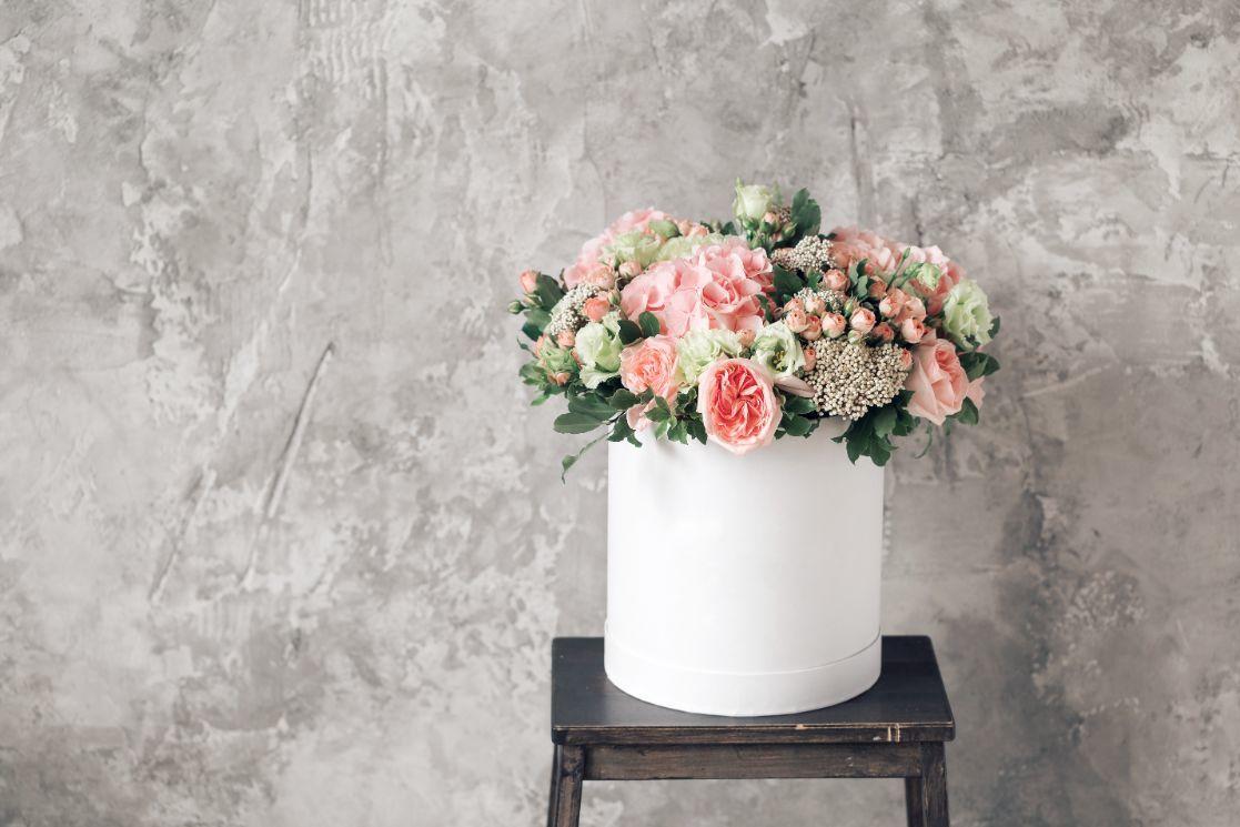 Flower box na podziękowania dla rodziców