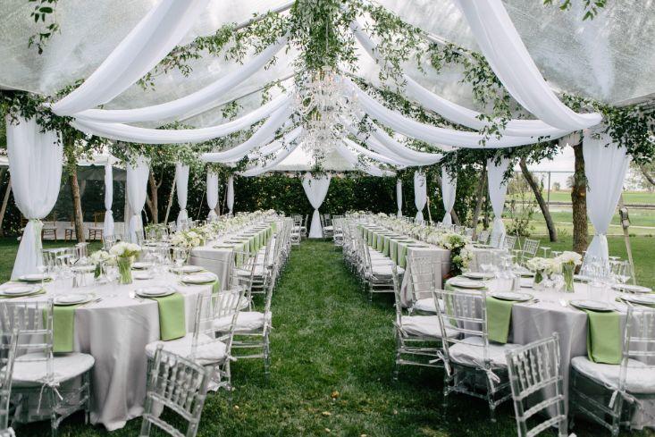 Dekoracje na ślub w plenerze i przyjęcie
