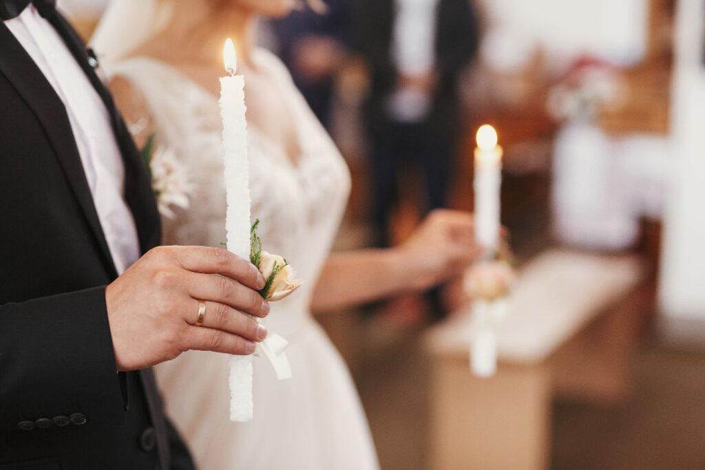 Ślub prawosławny w cerkwi