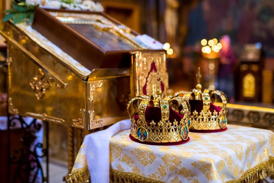 Ślub prawosławny koronowanie