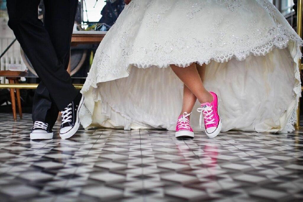 niezbędnik panny młodej - zapasowe buty