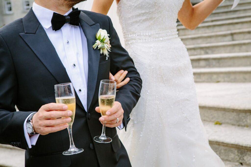para młoda po ślubie kościelnym