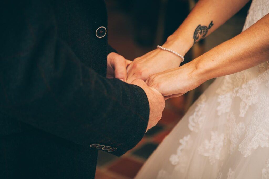 Ślub kościelny - przysięga pary młodej