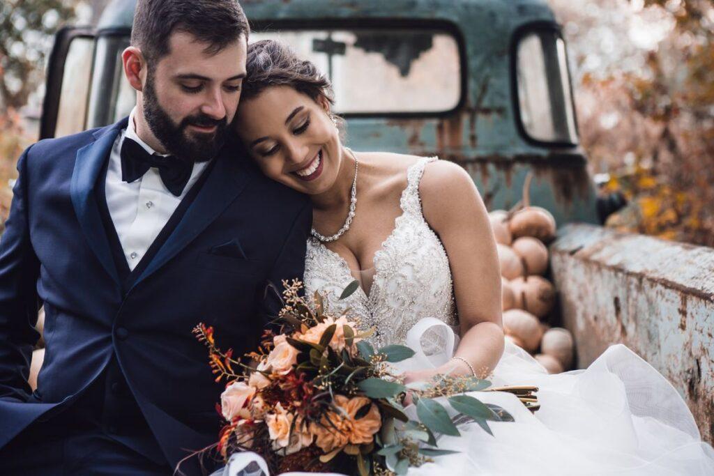 Plener ślubny młodej pary