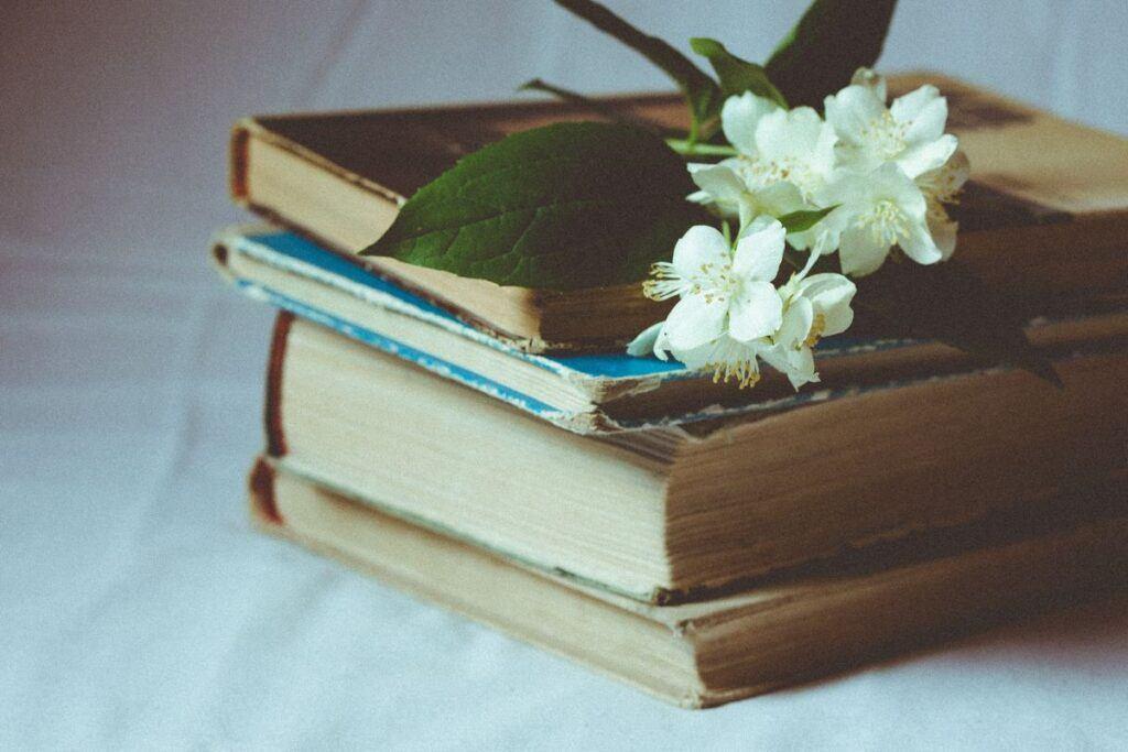 Książki zamiast kwiatów na wesele