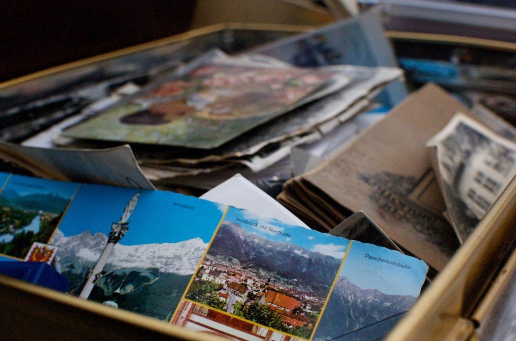 Kartki pocztowe zamiast kawiatów na wesele